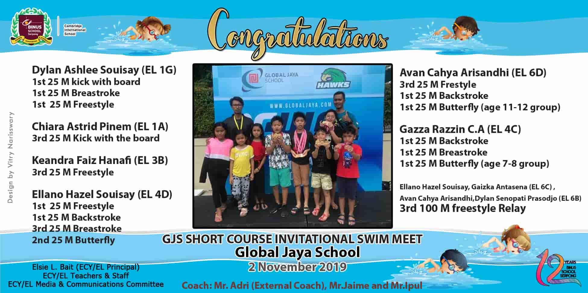 Swimming GJS