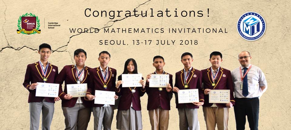 world mathematic 13-17 jul 18